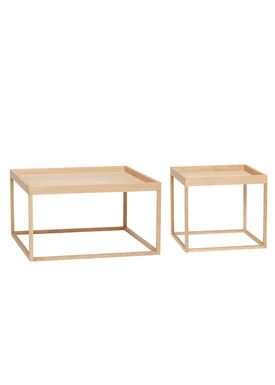Hübsch - Soffbord - Square oak table - Oak