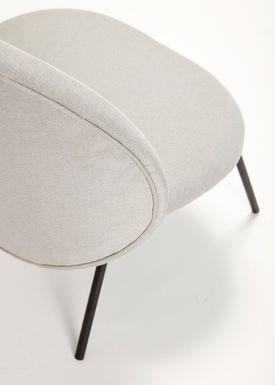 Hübsch - Chair - Lounge Chair - Gray