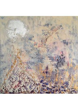 Iren Falentin - Painting - 1001 night - Blue