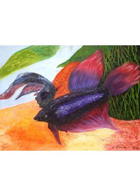 Iren Falentin - Painting - Betta - Multi