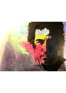 Iren Falentin - Painting - Bruce - Multi