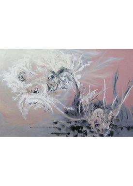 Iren Falentin - Painting - Hunts - Pink