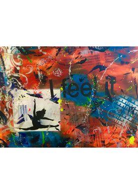 Iren Falentin - Painting - I feel it - Multi