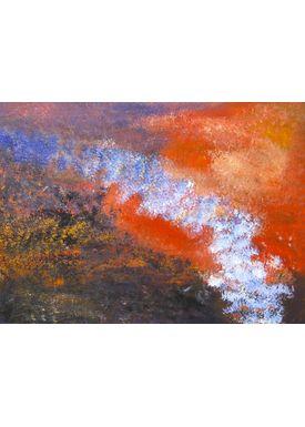 Iren Falentin - Painting - In Buschen - Orange