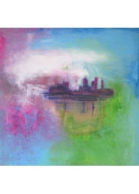 Iren Falentin - Painting - In romantic setting - Multi