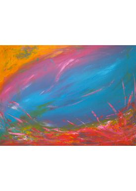 Iren Falentin - Painting - In the deep sea - Multi