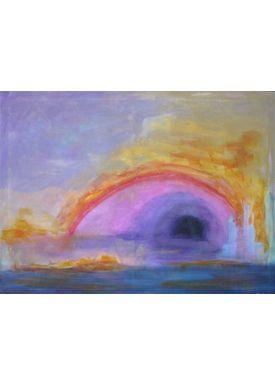 Iren Falentin - Painting - Lagoon - Multi