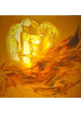 Iren Falentin - Painting - Light of life 2 - Yellow