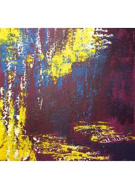 Iren Falentin - Painting - Magenta - Magenta
