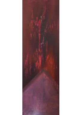 Iren Falentin - Painting - New Years Eve 3 - Red