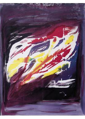 Iren Falentin - Painting - Silk 2 - Purple
