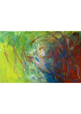 Iren Falentin - Painting - Spring - Green