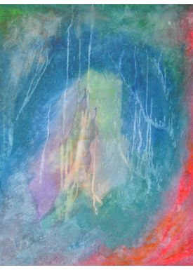 Iren Falentin - Painting - The highest peak - Multi
