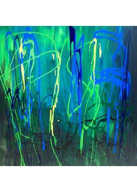 Iren Falentin - Painting - Water world - Multi