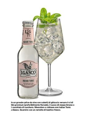 J. Gasco - Tonicwater - Tonic - Indian Tonic