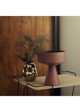Kähler - Jar - Fiora Centerpiece - Burgundy/Navy Night