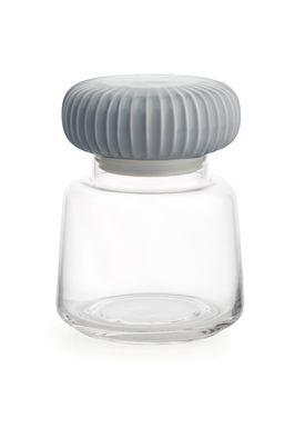 Kähler - Jar - Hammershøi Storage Jar - Marble Grey - Small
