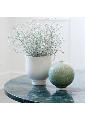 Kähler - Flowerpot - Urtepotteskjuler - White