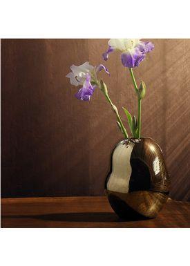 Kähler - Vase - Fiora Gold Vase - Gold