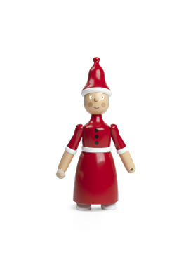 Kay Bojesen - Figure - Julefigurer Fra Kay Bojesen - Santa Claus Wife