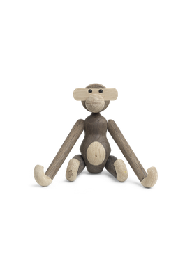Kay Bojesen - Figure - Monkey - Monkey Smoket Oak Small