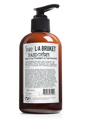 L:A Bruket - Hand Cream - No. 092 Hand Cream - Salvia/rosmarin/Lavendel