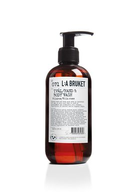 L:A Bruket - Soap - Liquid soap - No. 071 / Wild Rose / 250 ml