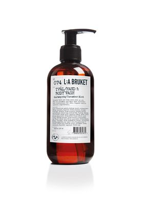 L:A Bruket - Soap - Liquid soap - No. 074 / Cucumber Mint / 250 ml