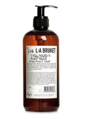 L:A Bruket - Soap - Liquid soap - No. 194 / Grapefruit Leaf / 450 ml