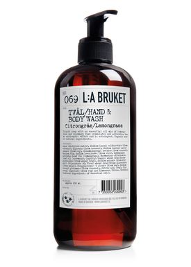 L:A Bruket - Soap - Liquid soap - No. 069 / Lemongrass / 450 ml