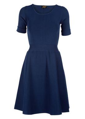 Le Mont Saint Michel - Kjole - Milano Dress - Indigo Blå