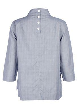 Libertine Libertine - Bluse - Pay Blouse - Black/White Check/Greyish