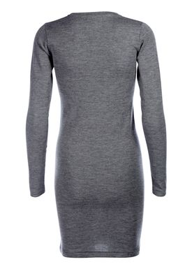 Libertine Libertine - Dress - Trial Wool Dress - Grey Melange