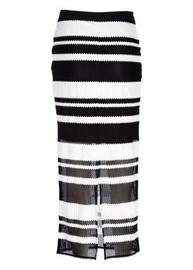 Libertine Libertine - Nederdel - Current Skirt - Sort/Hvid