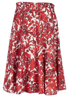 Libertine Libertine - Skirt - Faux - Apple Red Pattern