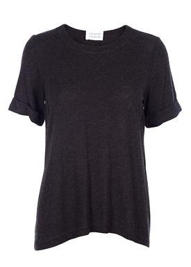 Libertine Libertine - T-shirt - Aight - Dark Grey Melange