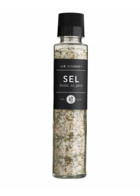 Lie Gourmet - Deli - Spice in Grinder - Salt with basil, garlic and parsley