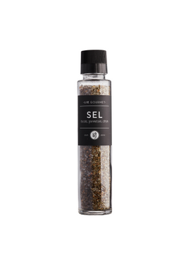 Lie Gourmet - Deli - Spice in Grinder - Salt with parmesan, basil, lemon
