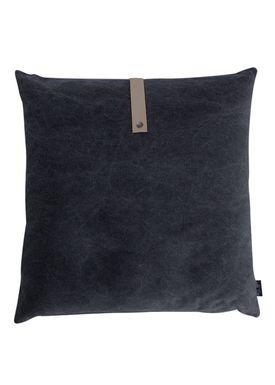 Louise Smærup - Cushion - Canvas - Black - 65 x 65