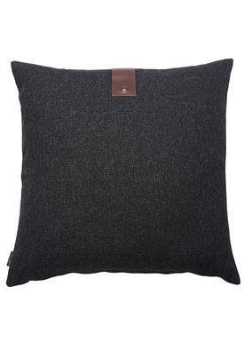 Louise Smærup - Cushion - Regular / Twist - Black Twist - 65 x 65
