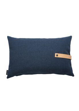 Louise Smærup - Cushion - Regular / Twist - Blue Twist - 60 x 40