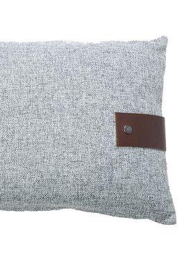 Louise Smærup - Cushion - Regular / Twist - Grey Twist - 60 x 40