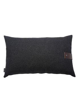 Louise Smærup - Cushion - Regular / Twist - Black Twist - 80 x 50