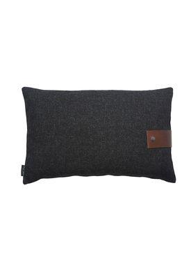 Louise Smærup - Cushion - Regular / Twist - Black Twist - 60 x 40
