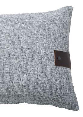Louise Smærup - Cushion - Regular / Twist - Grey Twist - 80 x 50