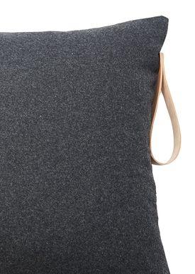 Louise Smærup - Tonicwater - Wool - Dark Grey Wool - 80 x 50