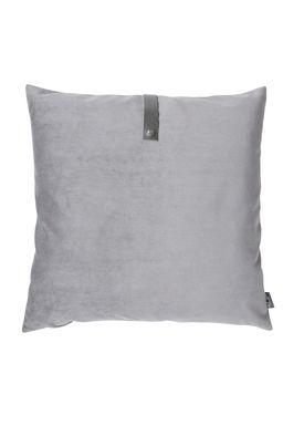 Louise Smærup - Cushion - Velour - Light Grey - 65 x 65 cm