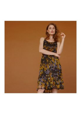 Love&Divine - Dress - Love225 - Black/Navy/Yellow