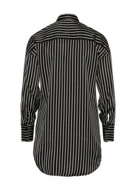 Love&Divine - Shirt - Love176-1 - Black Pinstripe