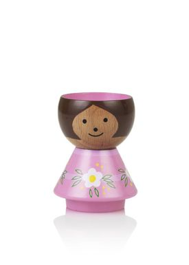 Lucie Kaas - Figure - Bordfolk Girl Egg Cup - Pink